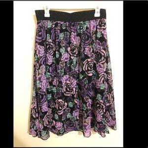 Lularoe Lola skirt large